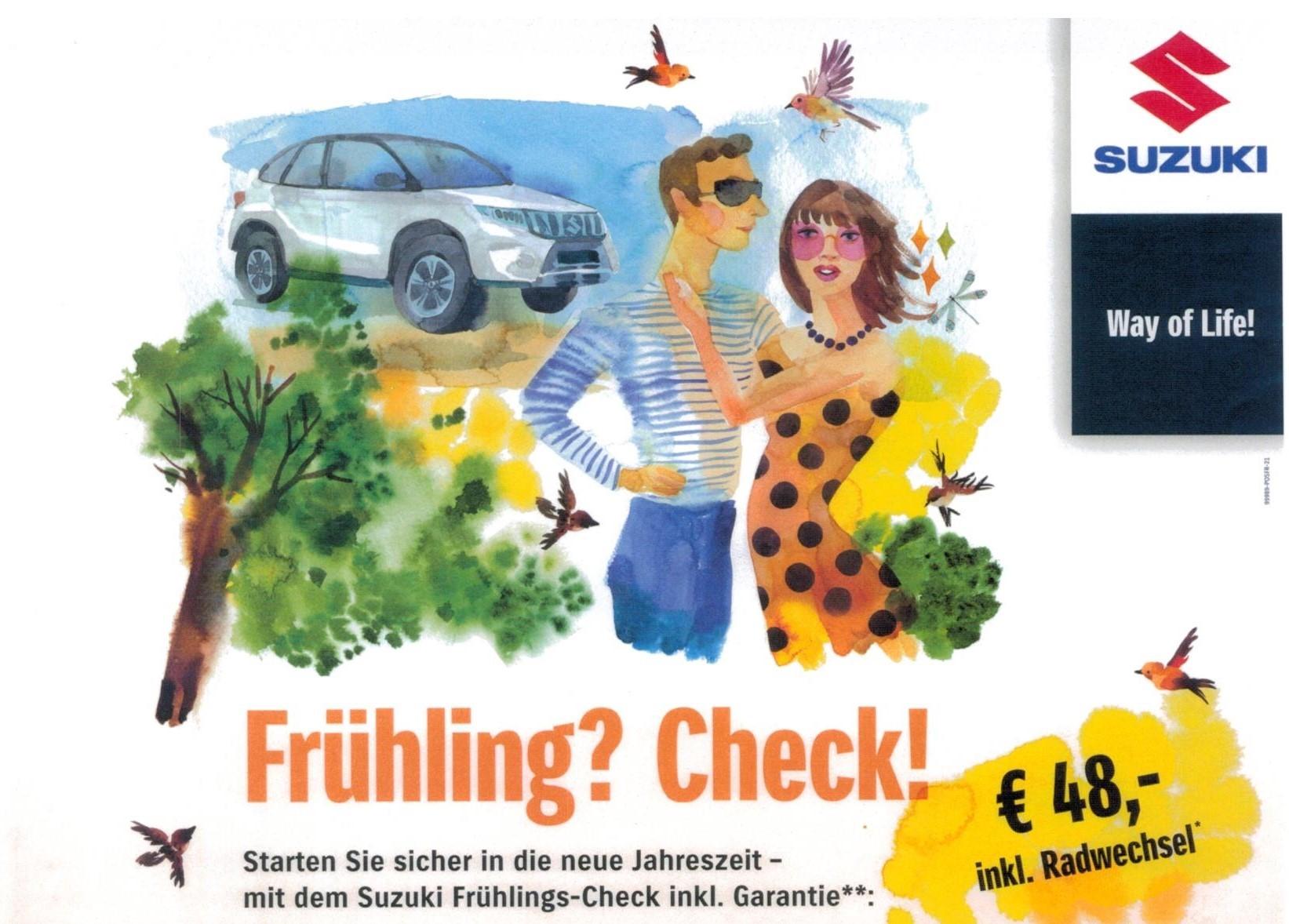 Suzuki Frühlingscheck